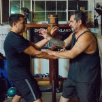 2015-10-10 - Hayward, CA - From left to right - Tommy Robles and Felix Macias Jr.